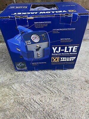 New Yellow Jacket Yj-lte Model 95730 Refrigerant Recovery Machine