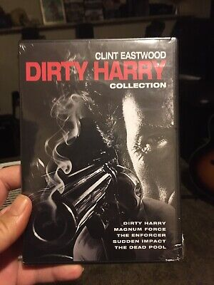 Dirty Harry 5 Movie Collection Dvd