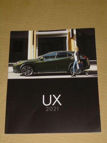 2021 LEXUS UX SALES BROCHURE MINT! 48 PAGES + F SPORT