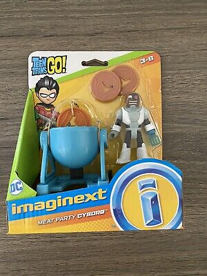 Fisher Price Imaginext Teen Titans Go Meat Party Cyborg New