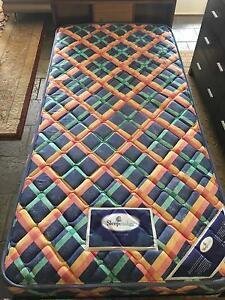 Single Mattress ( Sleepmaker Brand ) & Bed Frame Kiama Downs Kiama Area Preview