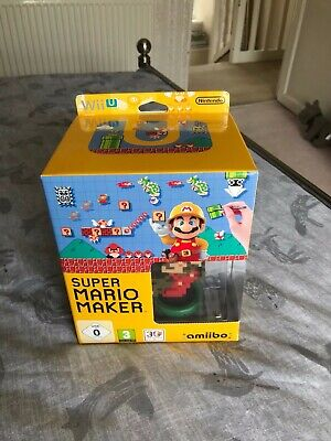 Super Mario Maker - Nintendo Wii U ( Big Box Edition With Amiibo And Artbook )