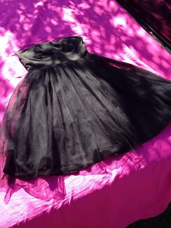 Ladies black dress Miss Finch size 12 Belrose Warringah Area Preview