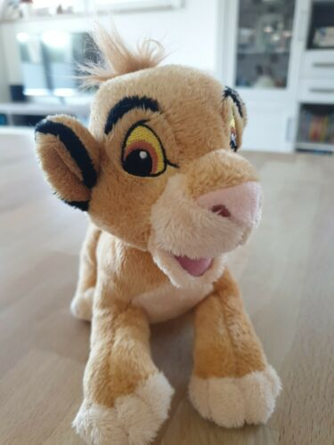 König der Löwen Stofftier Simba 17 x 13 cm Kuscheltier