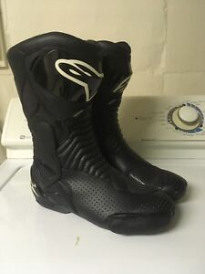 Alpinestars S-MX 6 Vented motorcycle boots 42 / 8