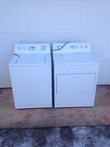 Whirlpool washer and electric dryer