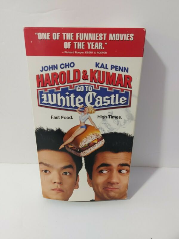 Harold and Kumar Go to White Castle VHS Rare