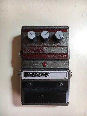 DOD FX20B Stereo Phaser Guitar FX Pedal