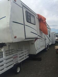 fifth wheel camper  a steal of a deal