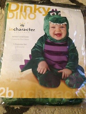 InCharacter Dinky Dino Dinosaur Halloween Costume Large (18m-2T) Infant/Toddler - Dinosaur Toddler Halloween Costume