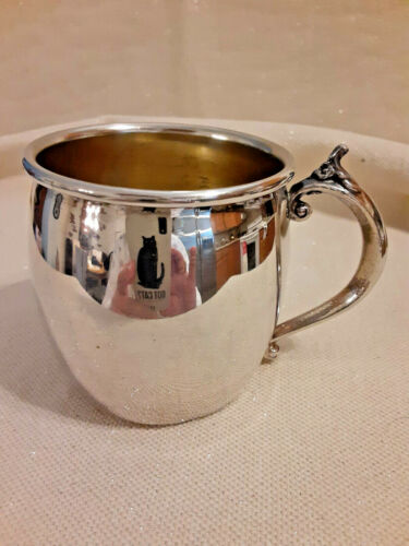 Towle Silverplated Baby Cup 2.5 Inces Tall