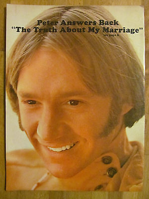 The Monkees, Peter Tork, Full Page Vintage Pinup