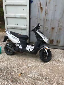 50 cc 2 stroke moped