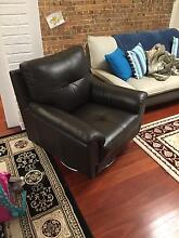 1 Seat Leather Chair Surry Hills Inner Sydney Preview