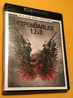The Expendables: 3-Film 1, 2, & 3 Collection (4K Ultra HD, 2017) *NEW* comprar usado  Enviando para Brazil