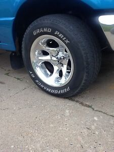 G-T Radial tires and rims