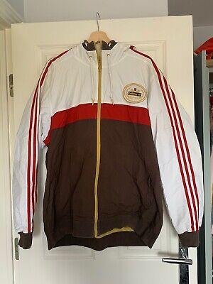 Team Adidas Est 1949Jacket Retro Hoodie Vintage Style Size L