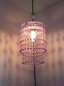 Purple Chandelier Light