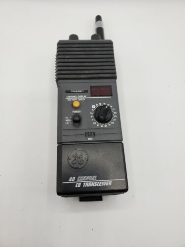 General Electric Handheld 40 Channel CB Radio 3-5979A Transceiver