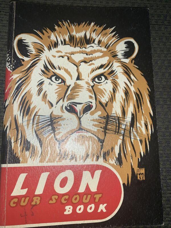 Older Boy Scout Lion Cub Scout Book  BSA