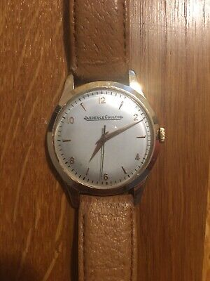 Jaeger Lecoultre 18k Gold Watch