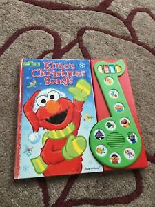 Elmo's Christmas songs book