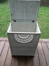 Large white wicker laundry basket Allambie Heights Manly Area Preview