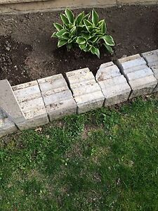 Looking for caps for this retaining wall blocks
