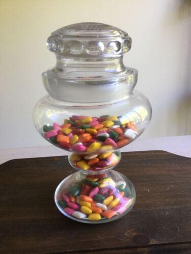 Vintage Rare Listerated  Pepsin chewing gum jar