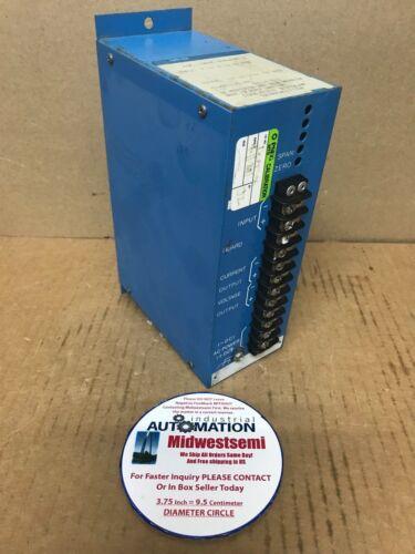 AMETEK XSC-1302-48630A-1 ISOLATED BIPOLAR TRANSMITTER 4-12-20mADC SHIPSAMEDAY