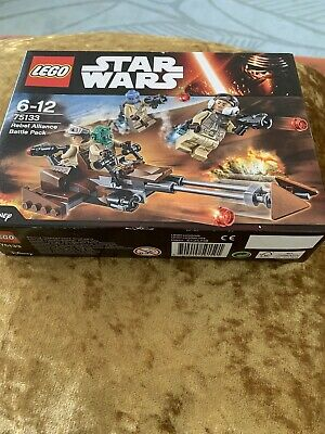 Lego Star Wars 75133 Rebel Alliance Trooper Battle Pack - New & Sealed - Retired
