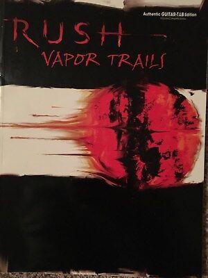 Rush - Vapor Trails - Guitar tab / Tablature book songbook