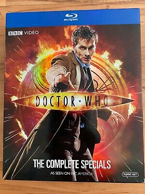 Doctor Who: The Complete Specials 5-Disc Blu-ray Set (David Tennant)