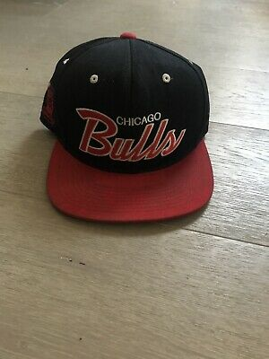 Mitchell Ness NBA Chicago Bulls Script Retro Snapback Hat Cap Jordan Windy City
