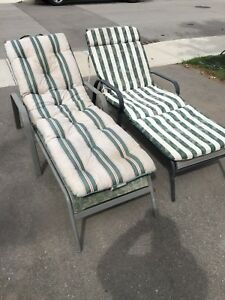 Lawn lounge chairs