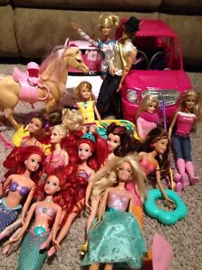 Lots and lots of Barbies