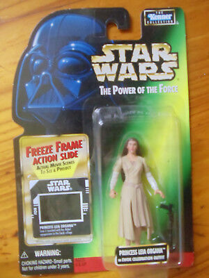 Ewok Outfit (Princess Leia in Ewok Outfit Power of the Force 2 MOC Freeze Frame Action Slide)