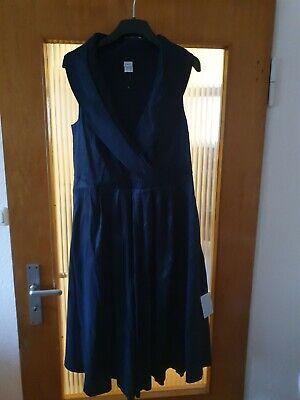 Abendkleid Cocktailkleid Kleid Heine 44 Dunkelblau Neu online kaufen