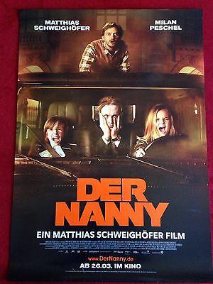 Der Nanny Kinoplakat Filmplakat A1 Poster Mathias Schweighöfer