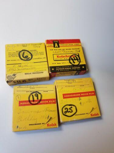 Vintage 8mm Home Movies 1958, 60,61,62 - $9.99