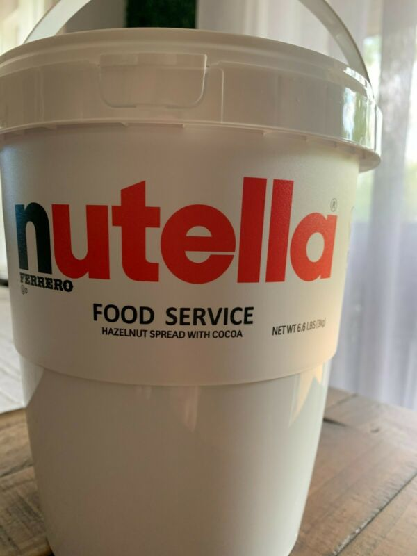 Nutella ferrero 3kg(6.6 pound)