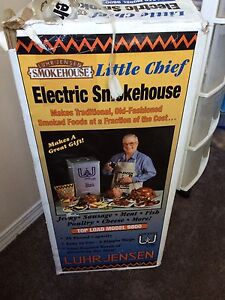 Little chef electric smokehouse