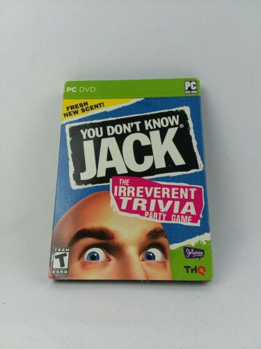 You Don't Know Jack PC Software - Funny Adult Trivia Game Show - Classic Party