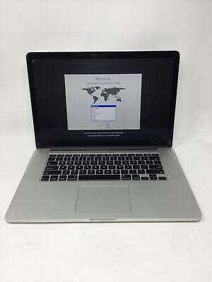 """Apple MacBook Pro 2015 15.4"""" RETINA Laptop - MJLQ2LL/A BTO 2.5GHz i7 16GB 512GB"""