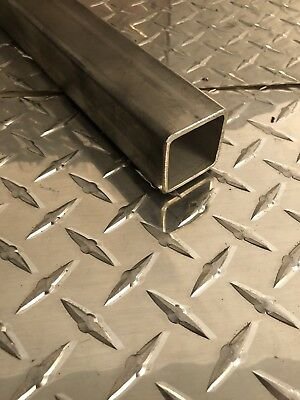 1-12 X 1-12 X 11 Gauge 304 Stainless Steel Square Tubing X 36 Long