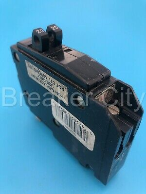 Square D Qo2020 2020 Amp 2 Pole Or Tandemtwin Plug On Qot Circuit Breaker