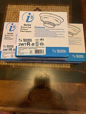 Nib System Sensor 2wtr-b 2wtrb I3 Series Photo Smoke Detector.