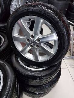 "NISSAN GENUINE WHEELS AND TYRES 17"" NISSAN $450"