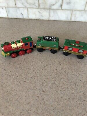 1999 Lionel Holiday Flyer Train Tree Set Music/lights WORKS Christmas
