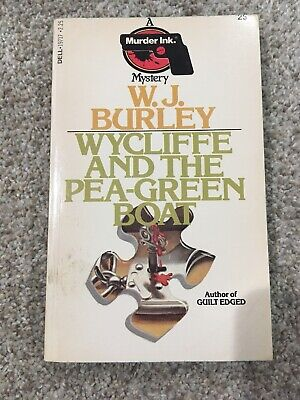 Wycliffe And The Pea Green Boat - W.J. Burley - Murder Ink Mystery
